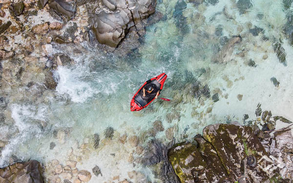 Wildwasser Packrafting Soca